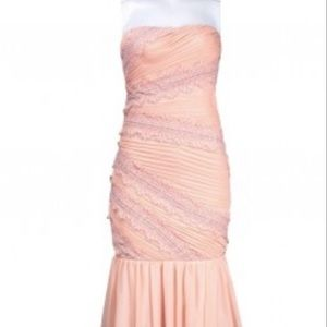 NWT js collections blush gown prom or homecoming
